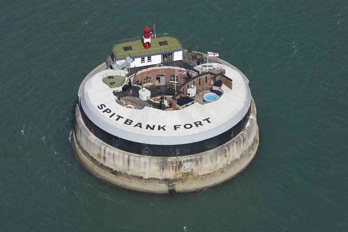 Spitbank Fort Hotel - بريطانيا