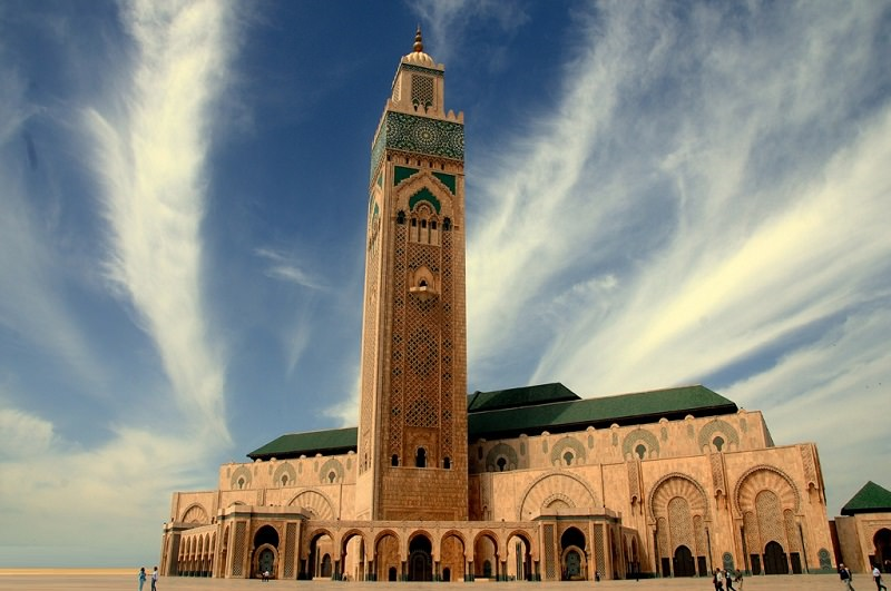 مسجد الحسن الثاني (الدار البيضاء - المغرب)