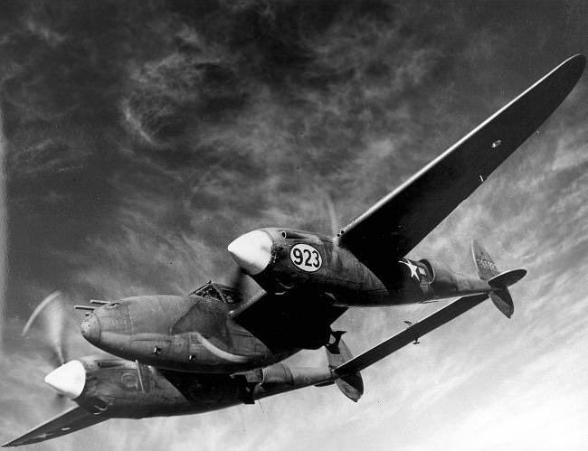 معركة نيس الجوية - الحرب العالمية الثانية في سنة 1944