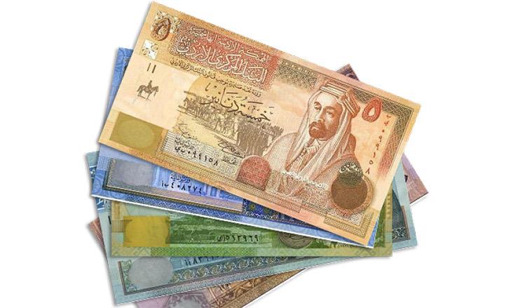 الدينار الأردني - يعادل 1.41 دولار أمريكي