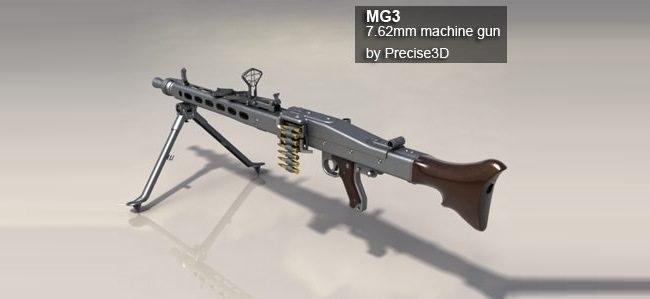 رشاش MG3