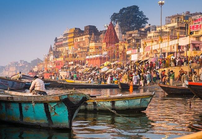 مدينة فاراناسي - الهند