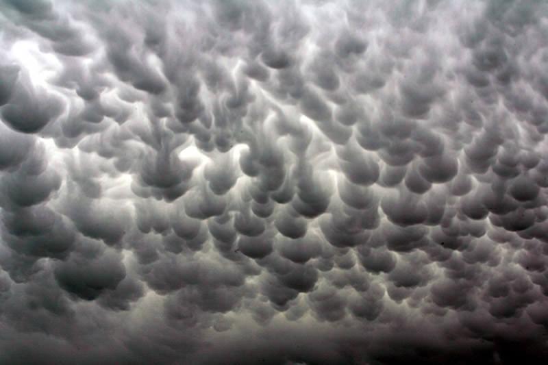 تكور الغيوم