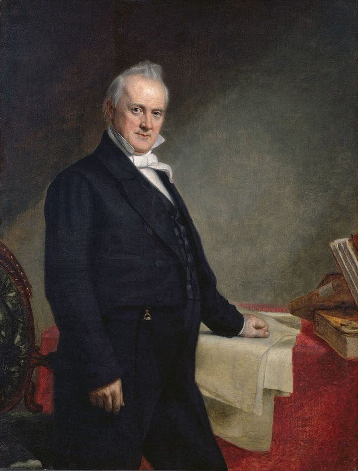 جيمس بوتشنان (1857- 1861)