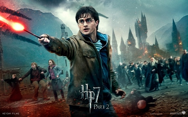 Harry Potter and the Deathly Hallows Part 2 - مجموع الإيرادات 1.341 مليار دولار