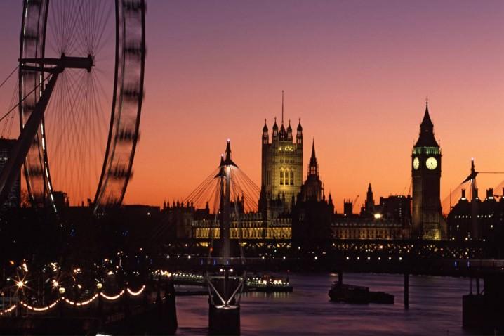 لندن، إنجلترا - 18.82 مليون سائح