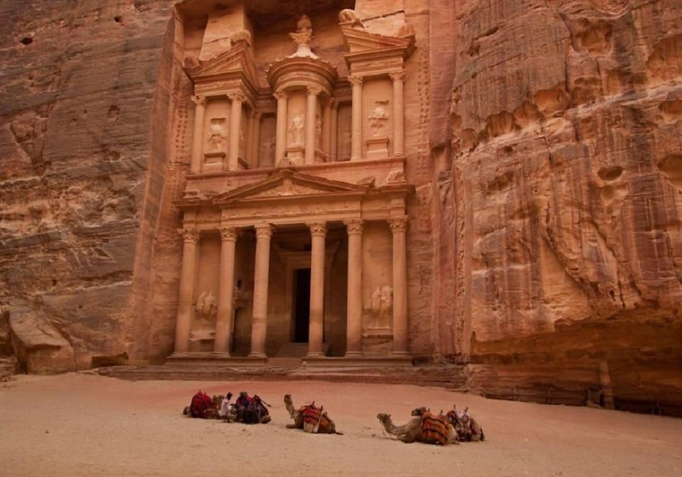 مدينة البتراء-الأردن