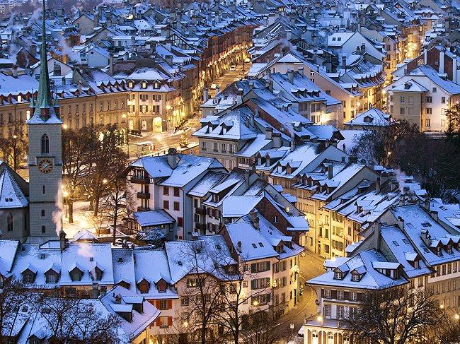مدينة برن - سويسرا، أنظف مدن في العالم