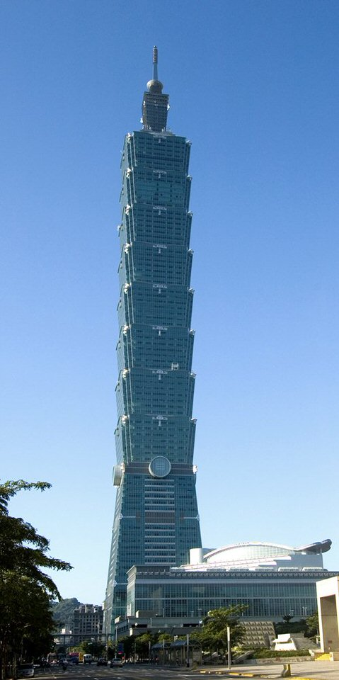 تايبيه 101 (تايوان) - 508 متر (1666.6 قدم)
