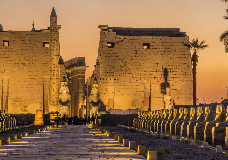 معبد الأقصر-مصر