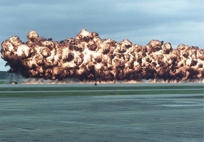 إعادة تدوير قنابل النابالم
