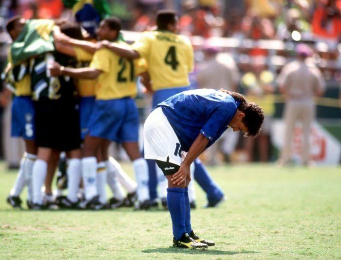 إهدار باجيو ركلة الجزاء عام 1994