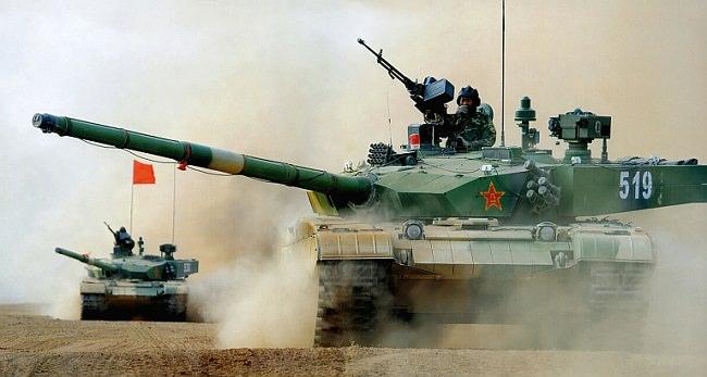 دبابات تايب 99-إيه 2 - الصين