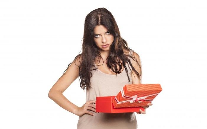 نقطة إضافية - تقديم هدية سيئة للمرأة