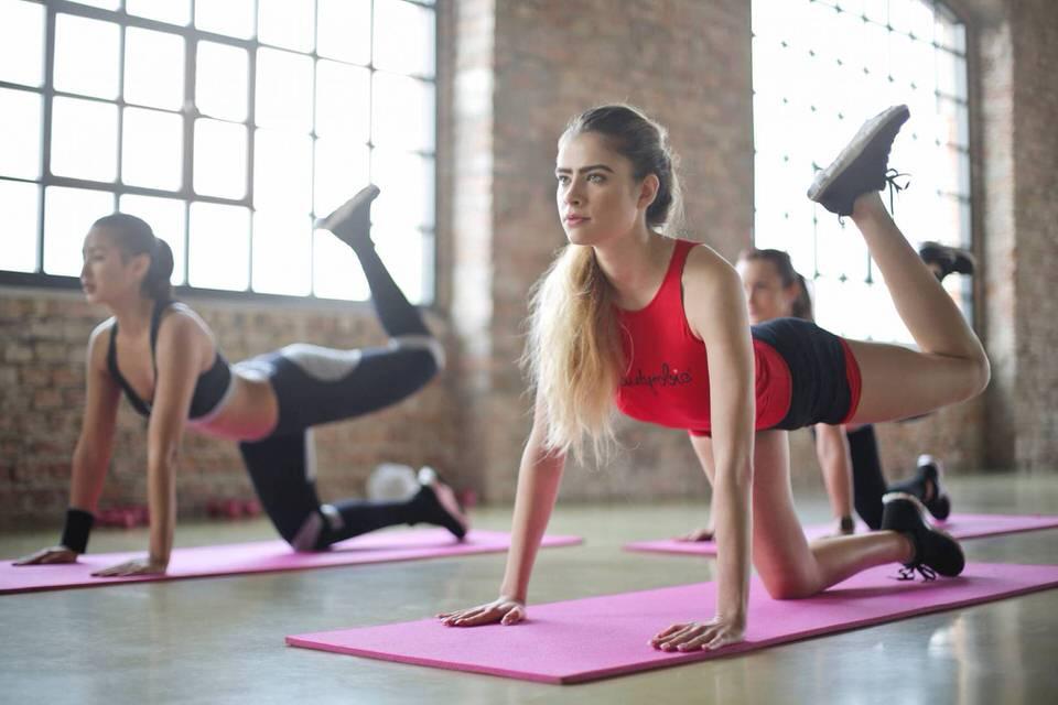 ممارسة التمارين الرياضية