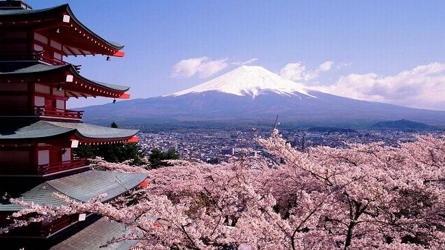 ثوران جبل فوجي في اليابان، ما بين سنوات 2015 و 2053