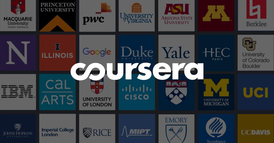 منصة Coursera