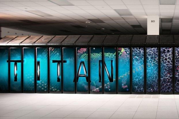 Titan في الولايات المتحدة - 17.59 مليار عملية حسابية في الثانية