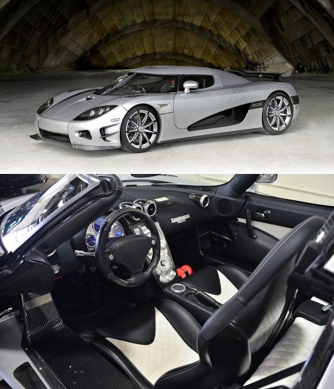 كينيجسيغ سي سي أكس آر ترفيتا - 4.8 مليون دولار، اغلى سيارات رياضية في العالم