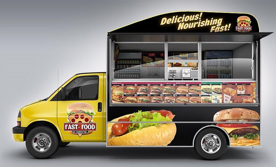 مشروع سيارة الطعام (الفود ترك)