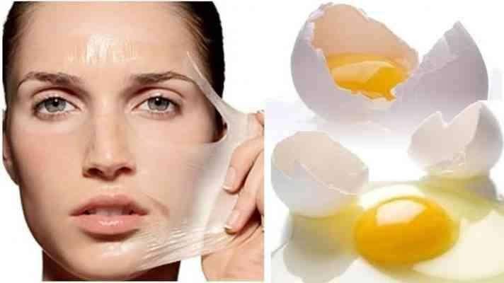 قشر البيض و البشرة