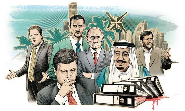 من هم أبرز الشخصيات التي وردت أسماؤهم في اوراق بنما ؟
