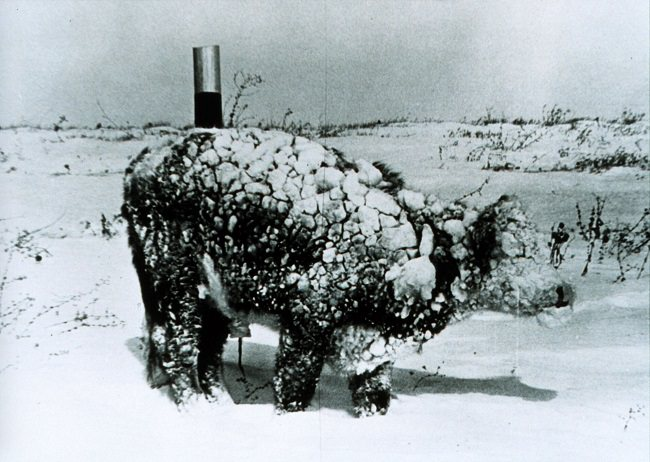 الثلوج الهائلة في نيو إنجلاند سنة 1717 - الولايات المتحدة الأمريكية