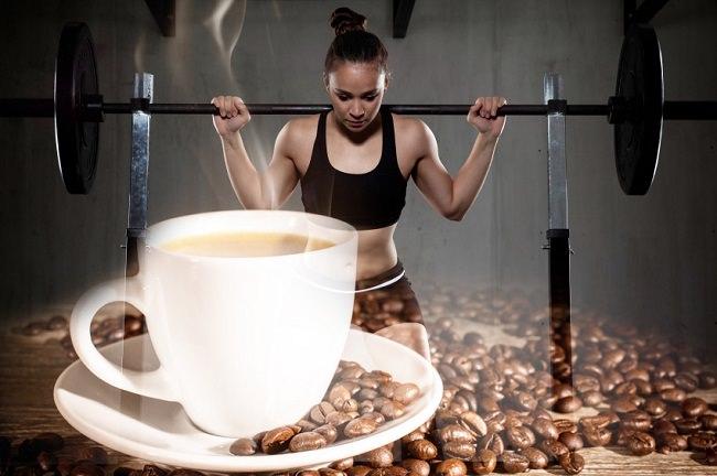 شرب الكافيين قبل التمارين الرياضية
