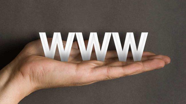 أول صفحة وموقع ويب على شبكة الإنترنت