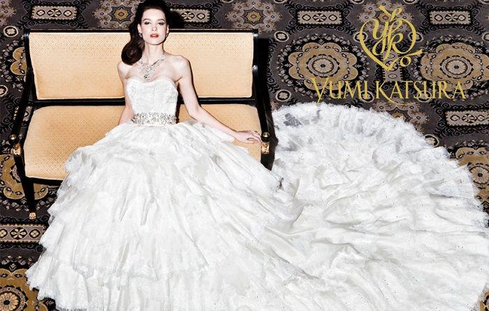 فستان الزفاف الماسي لـ«يومي كاتسورا» - 8.5 مليون دولار