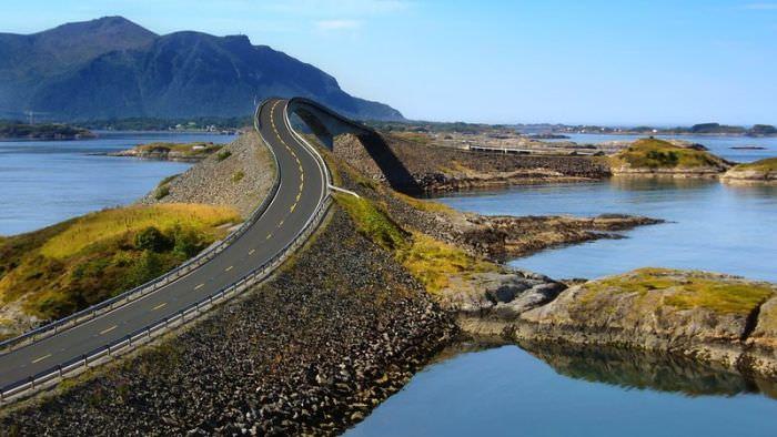 طريق ساحل المحيط الأطلسي - النرويج