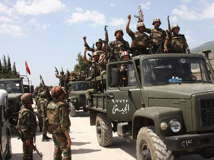الجيش السوري - المركز 42 عالمياً