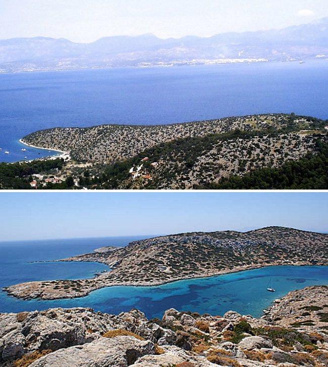 شبه جزيرة ليناري Lihnari Peninsula - بـ 3.3 مليون دولار وهي ارخص جزر يونانية للبيع