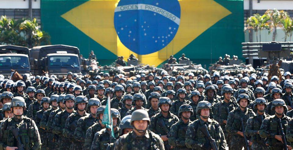 المركز العاشر: البرازيل – الجيش البرازيلي