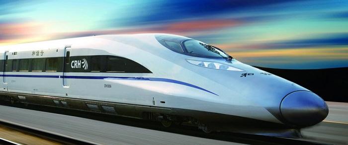 قطار CRH 380A في الصين - 486 كم في الساعة