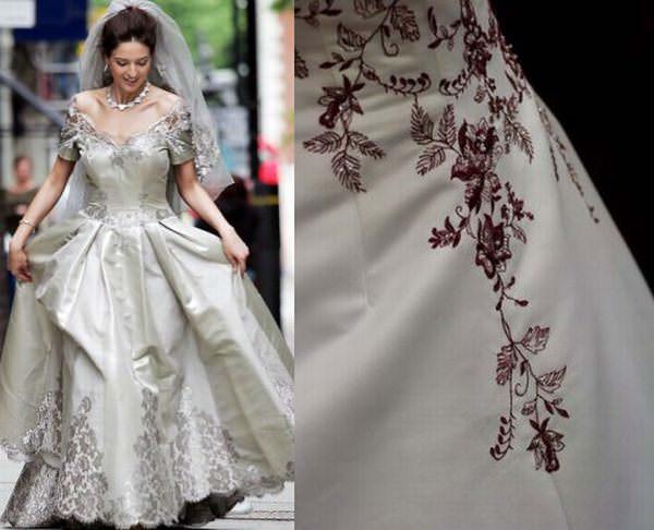 الفستان البلاتيني لـ«ماورو أدامي» - 380 ألف دولار