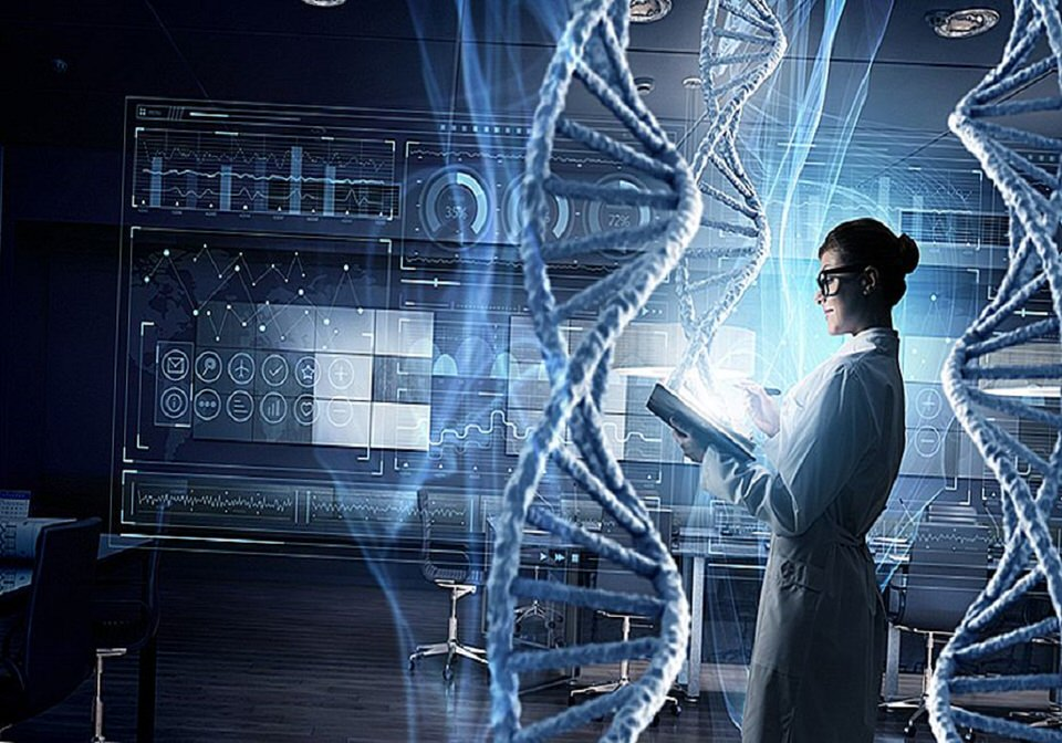 جرام واحد من الـ DNA يحتوي على 700 تيرابيت من البيانات