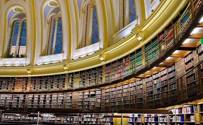 المكتبة البريطانية ، اكبر مكتبات العالم - 170 مليون كتاب
