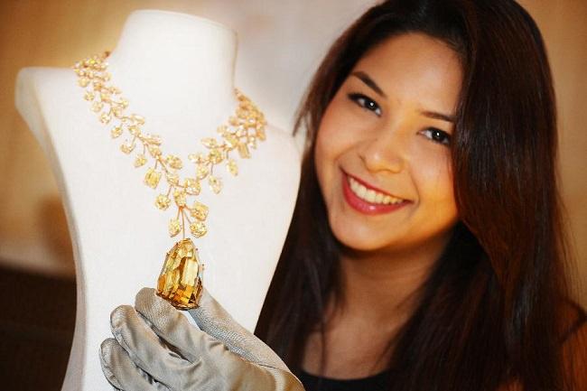 قلادة الماس التي لا تضاهى L'Incomparable Diamond Necklace - بـ 55 مليون دولار