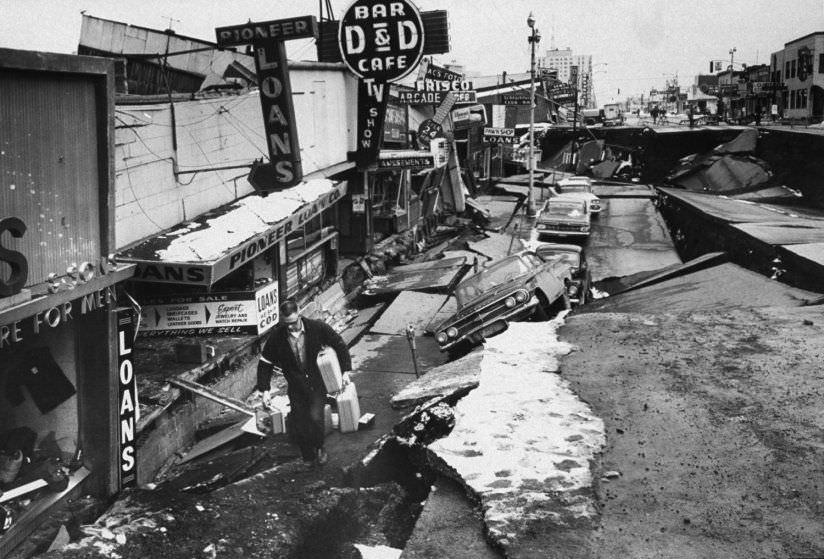زلزال ألاسكا العظيم 1964