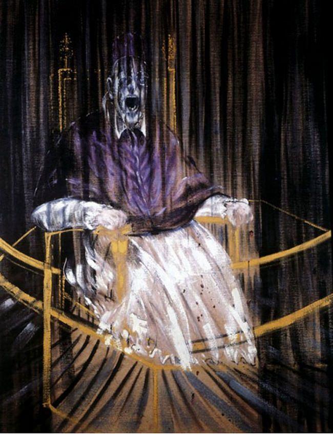 البابا إنوسينت العاشر - فرانسيس بيكون