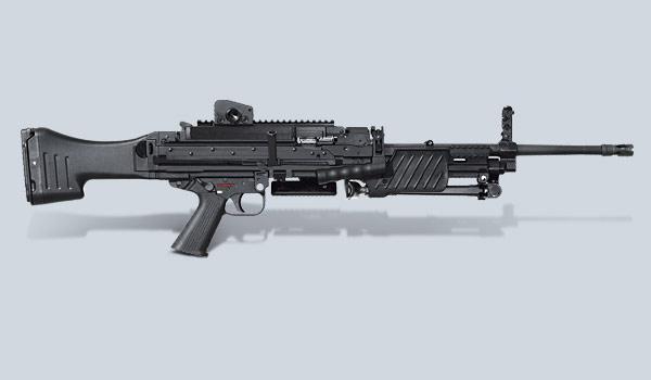 المدفع الرشاش HK MG4 MG 43