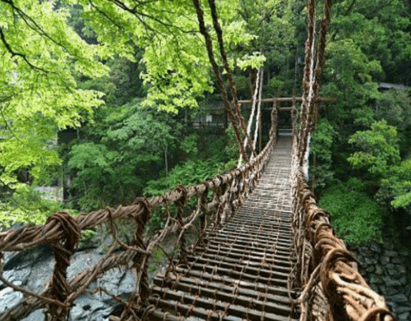 جسر إيا كازوراباشي، اليابان