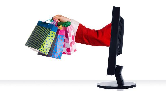 الهدايا عبر الإنترنت