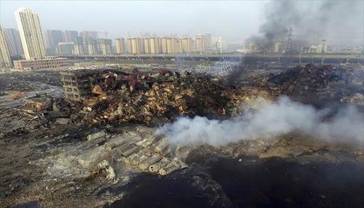ميناء تيانجين الصيني