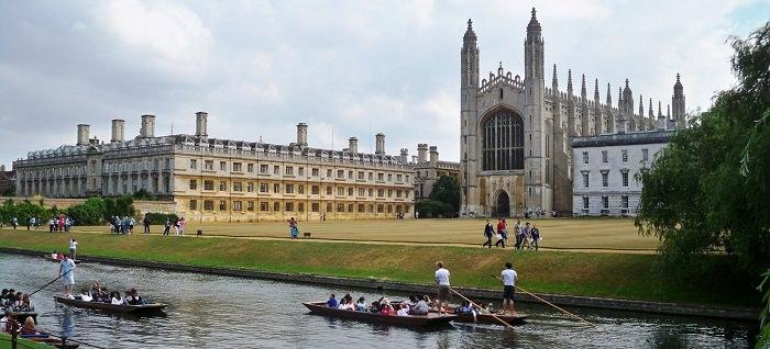 جامعة كامبريدج في بريطانيا - تأسست في عام 1209