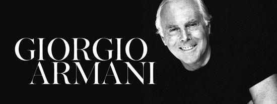 جورجيو ارماني giorgio armani
