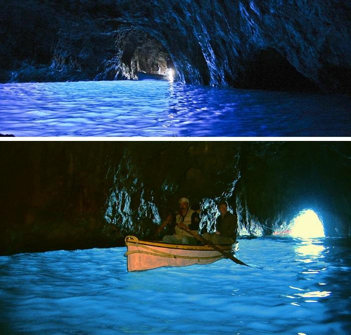 الكهف الأزرق ـ Blue Grotto