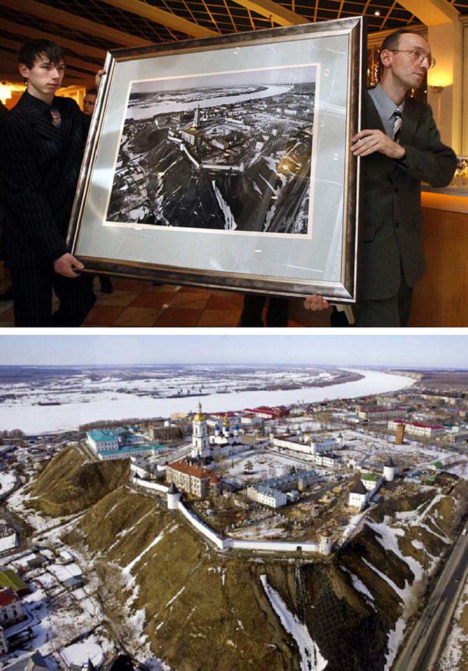 صورة «كرملن توبولسك» احد اشهر صور فوتوغرافية بيعت في التاريخ - 1،750،000 دولار