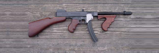رشاش طومسون M192